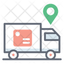 Express Delivery Delivery Truck Delivery Van Icon