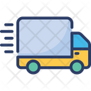 Express Delivery Shipping Fast Icon