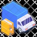 Express Logistics Fast Shipment Fast Cargo Icon