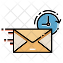 Express Mail Fast Courier Mail Service Icon