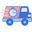 Express Shipping Delivery Deadline Delivery Time Icon