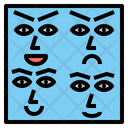 Expression Indication Demonstration Icon