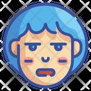 Expressionless Emoji Emoticons Icon