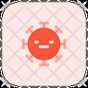 Expressionless Coronavirus Emoji Coronavirus Icon