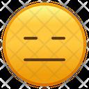 Expressionless Face Emoji Emoticon Icon