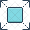Extend Prolong Expand Icon