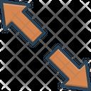 Extend Arrow Opposite Icon