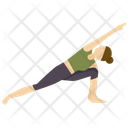 Extended Side Pose Icon