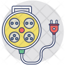Extension Cord Electrical Icon