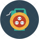Extension Cable Cord Icon