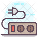 Extension Cord Extension Lead Extension Wire Icon