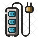 Extension Cord Power Cable Icon