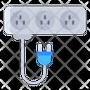 Gextension Cord Extension Cord Extension Board Icon