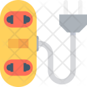 Extension Lead Cable Icon