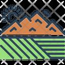 Extensive Valley Canyon Icon