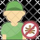 Exterminator Fumigator Fumigate Icon