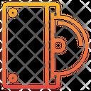 External Cd Rom Disc Cd Icon