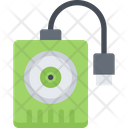 External Hard Disk Icon