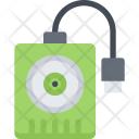 External Hard Disk Icon