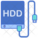 External Hard Drive Icon