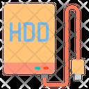 External Harddisk Harddisk Hdd Icon