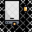 External Harddisk Electronic Icon