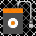 External Harddisk Storage Icon