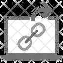 External External Link Notebook Icon