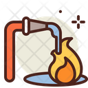 Extinguish Fire Water Pipe Watre Icon