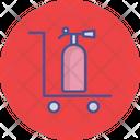 Extinguisher Fire Burn Icon