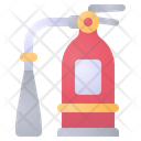 Extinguisher Fire Security Icon