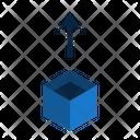 Extract Up Box Icon