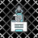 Extracting Data Icon