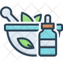 Extraction Medicine Herbal Icon
