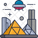 Mextraterrestial Civilization Extraterrestial Civilization City Icon