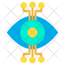 Connection Eye Robotic Eye Icon