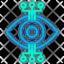 Connection Eye Robotic Eye Icon