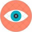 Eye View Visibility Icon