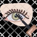 Eye Spiral Eyelashes Icon