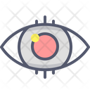 Eye Vision Focus Icon