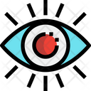 Eye Vision Power Icon