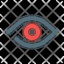 Eye Health Hospital Icon