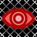 Eye Hospital Medical Icon