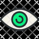 Eye Knob Optic Icon