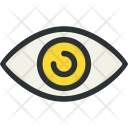Eye Knob Optic Icon