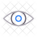 Eye View Look Icon