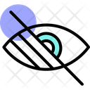 Visually Impaired Eye Operation Eye Icon
