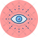 Eye Monitoring Vision Icon