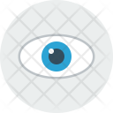 Eye Graphic View Icon