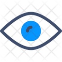 Eye Analysis Analystics Icon